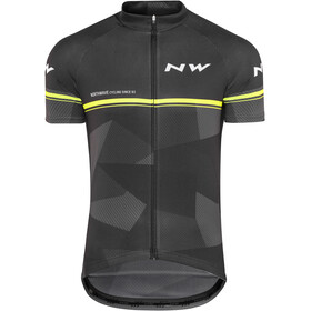 Northwave Origin SS Jersey Men black/yellow fluo
